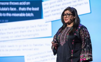 Nighat Dad: digital rights activist helping women defend their space online