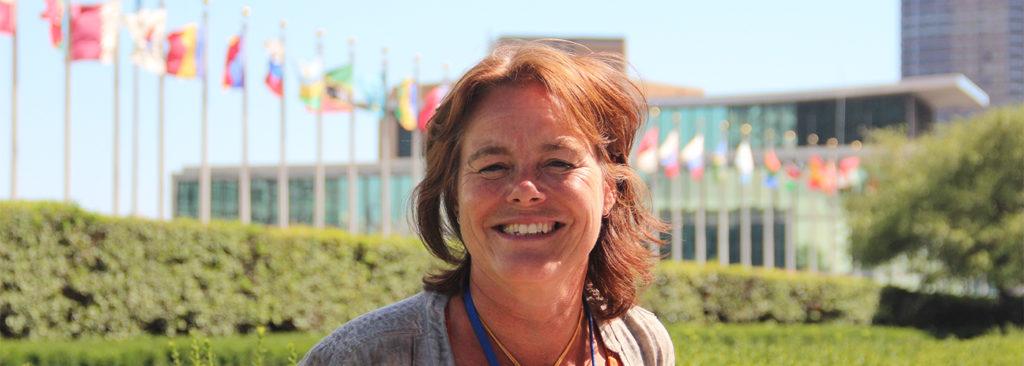 Carol Gribnau, program director of Hivos' Green department