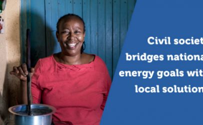 No civil society, no energy access for all