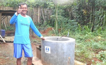 Biogas and bio-slurry: why Mr Sialim is smiling