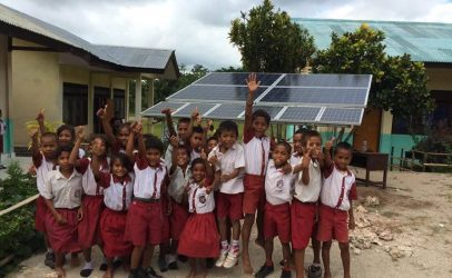 Brightening the classrooms in East Sumba