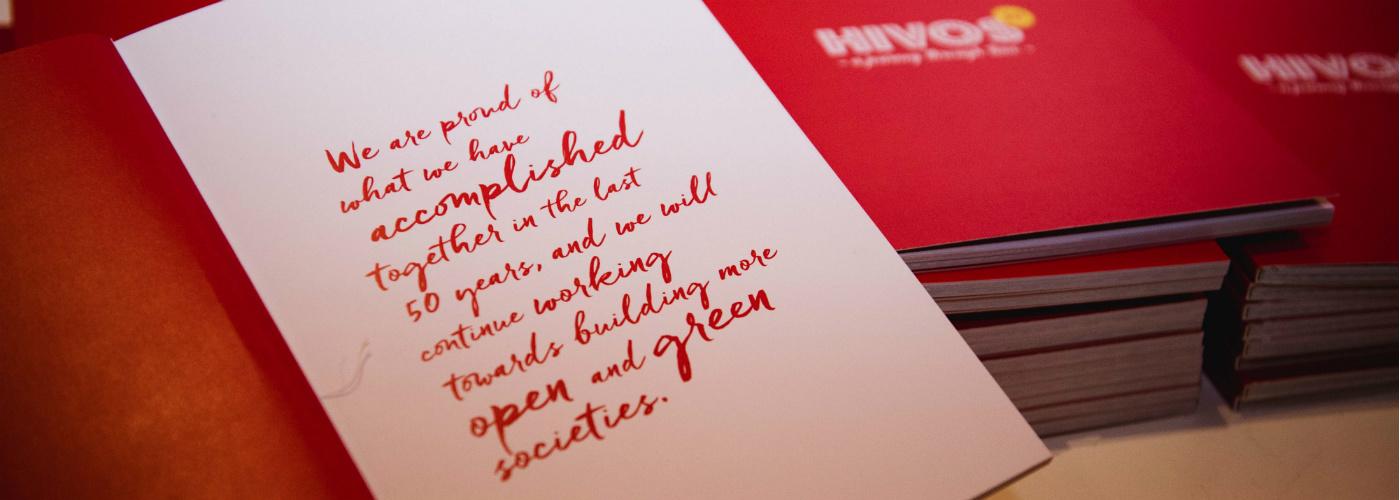 Hivos 50 years