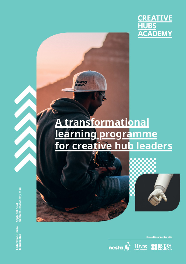 Creative Hubs Academy is live