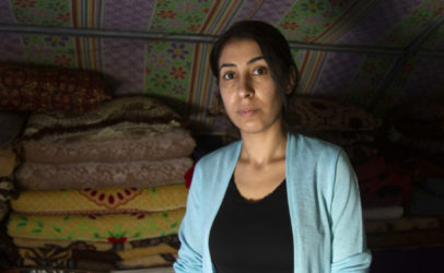 Three women fighting for a better life for the Yazidi community