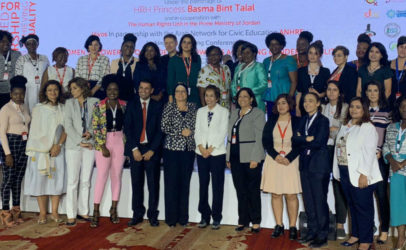 Women Empowered for Leadership conference gets royal welcome in Jordan
