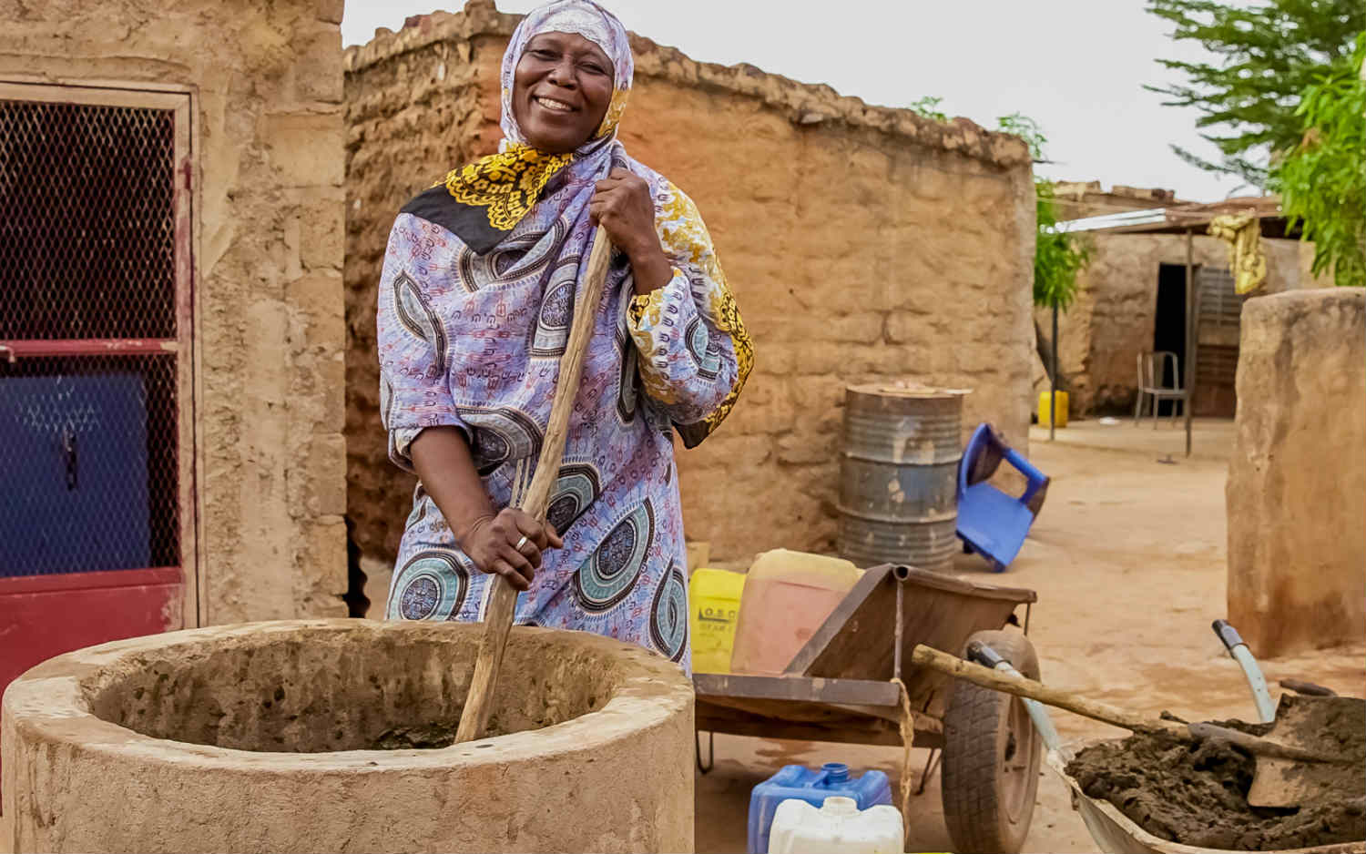 How a bio-digester powers lives in Burkina Faso