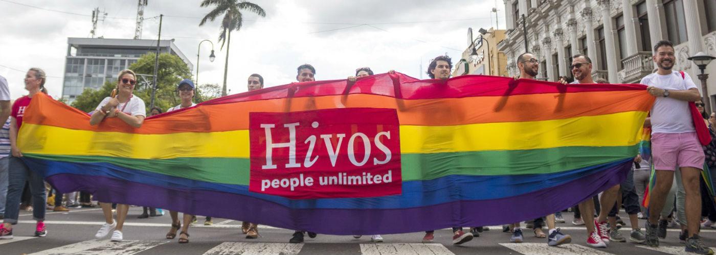 Hivos celebrates Pride