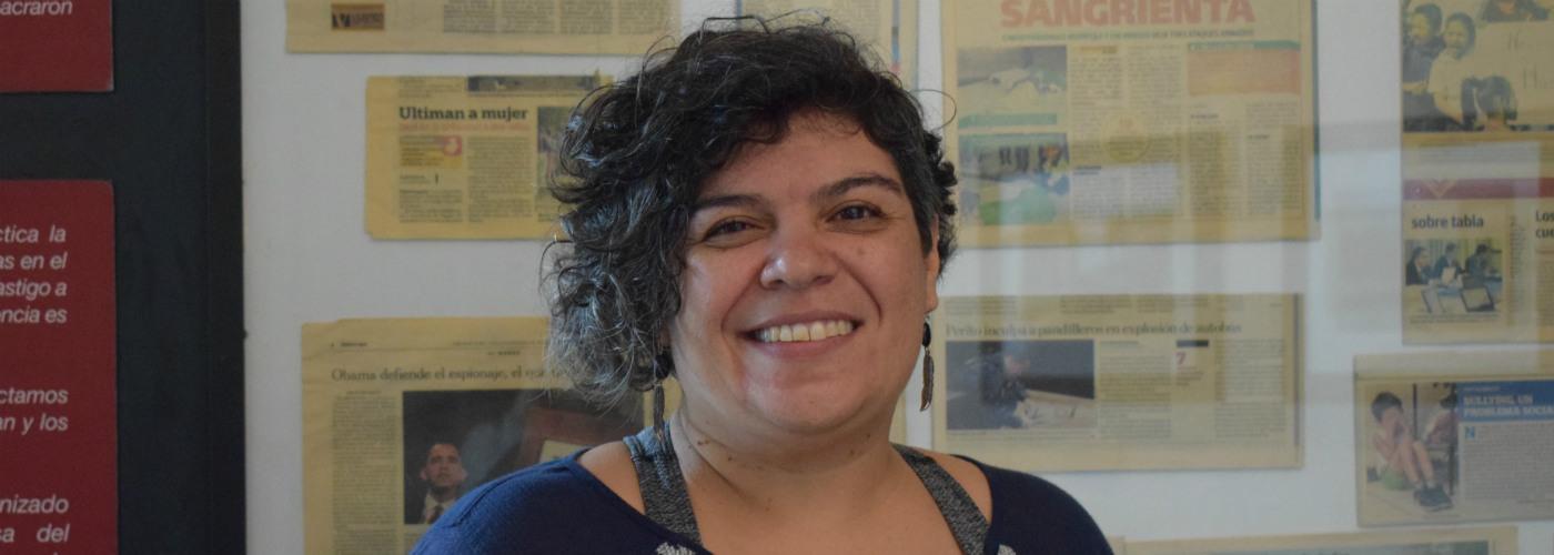 Alejandra Castillo defends human rights activists in Guatemala