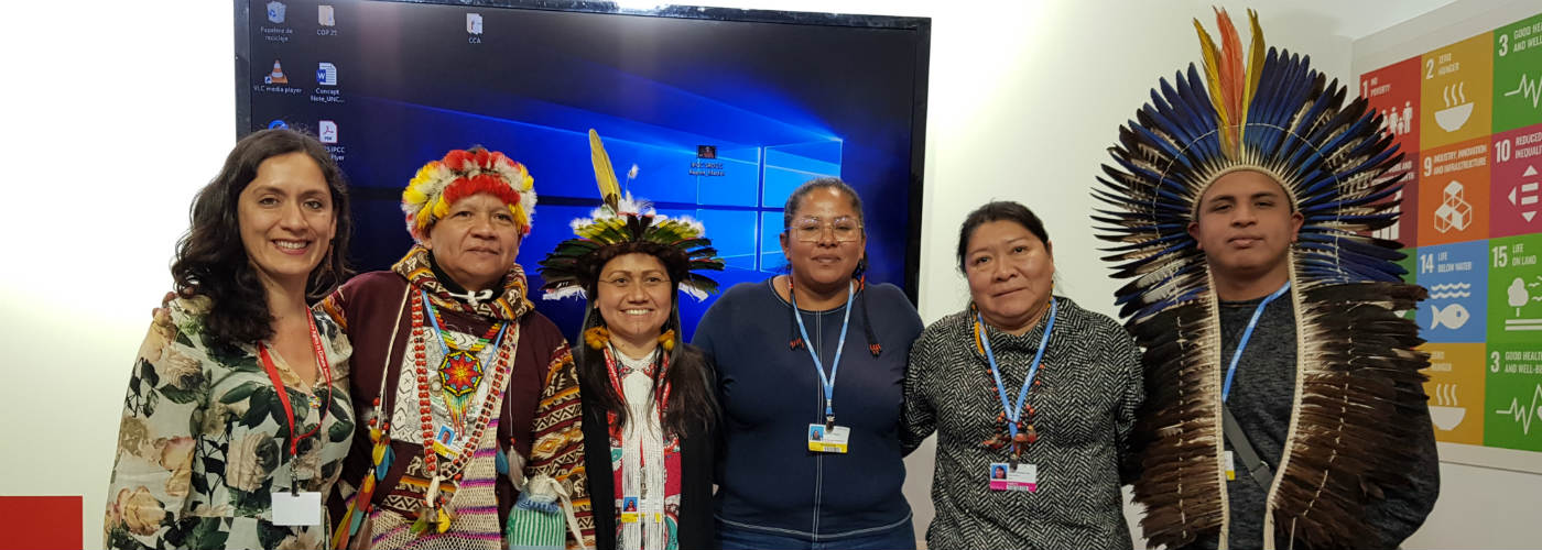 Putting deforestation of the Amazon on the agenda of the COP.
