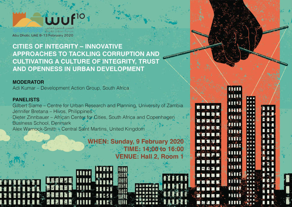 Improving public services at the World Urban Forum