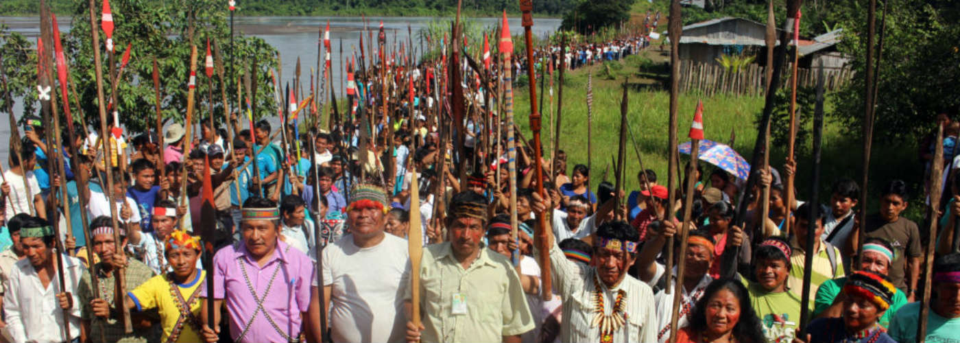 Indigenous leaders from Peru