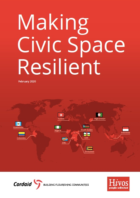 Making civic space resilient