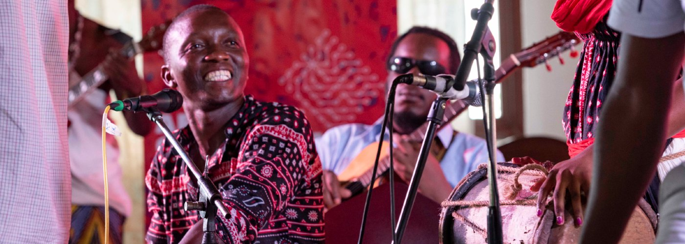 Musical performance at African Crossroads 2019