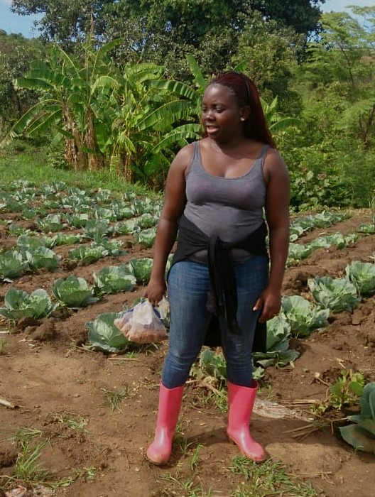 Nelly's bringing diversity back on her farm