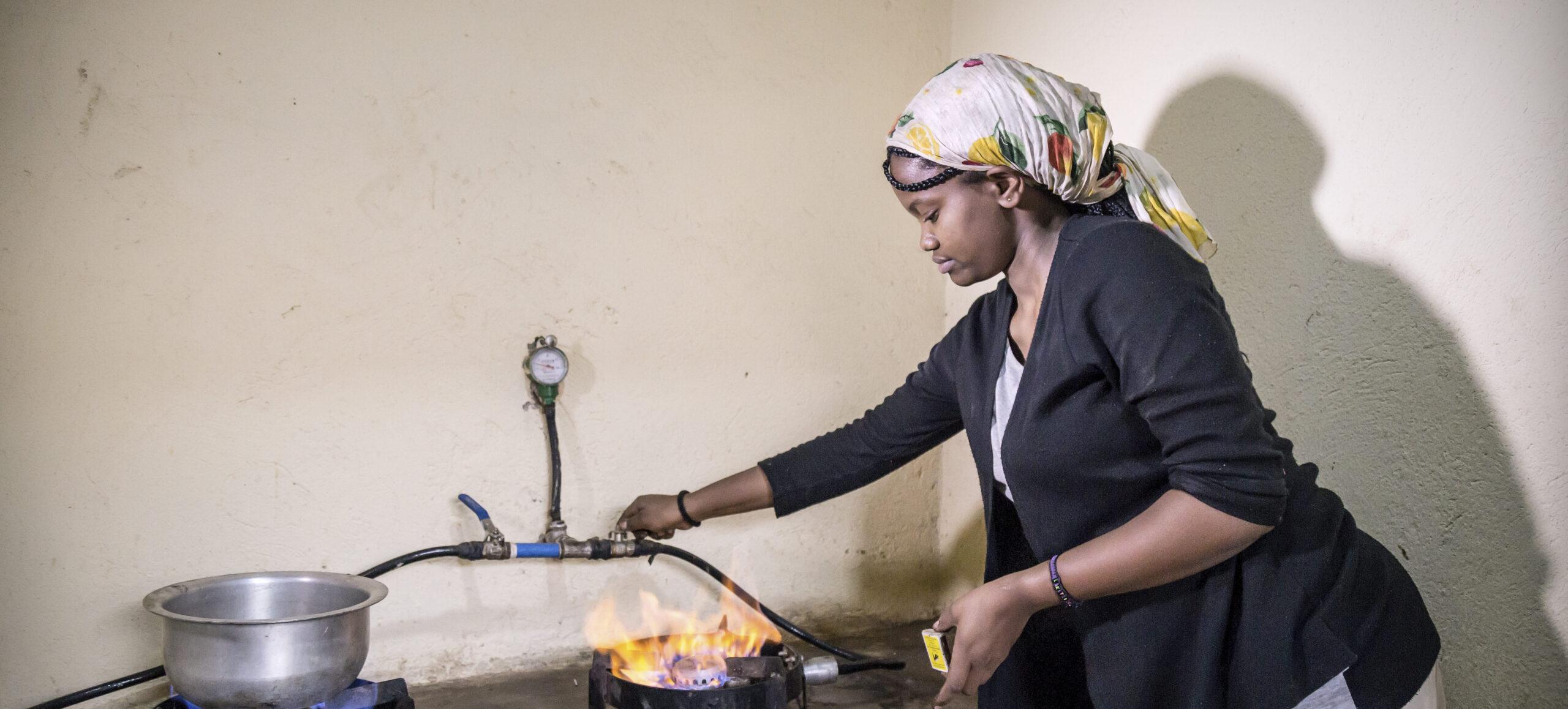 clean cooking biogas Uganda