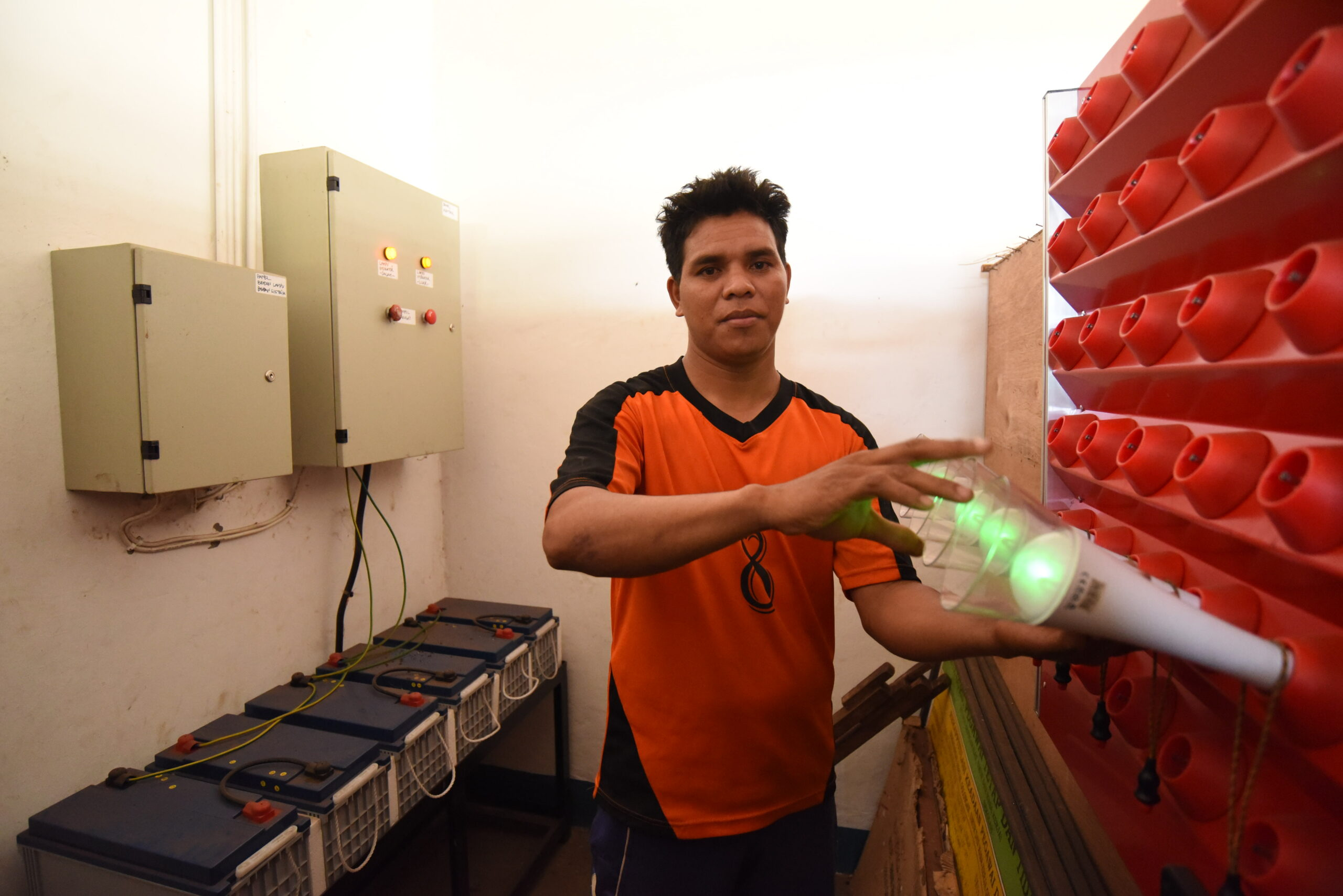 Biogas lamp Sumba
