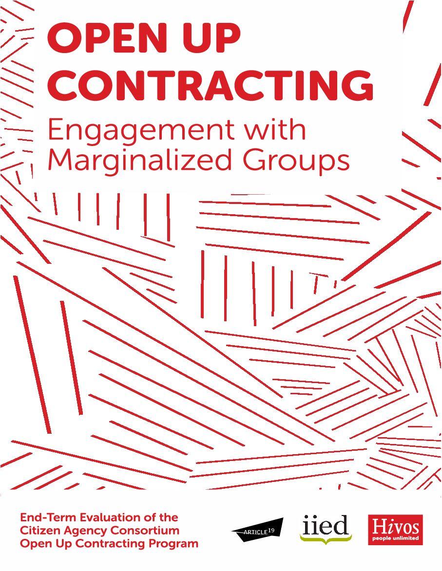 Evalution of program: Engagement with marginalised groups case study