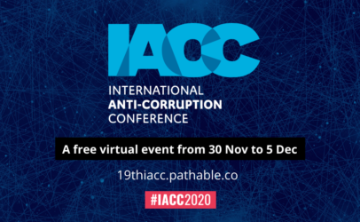 Join us 30 November at the International Anti-Corruption Conference
