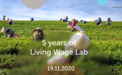 Invitation: 5th anniversary of the Living Wage Lab