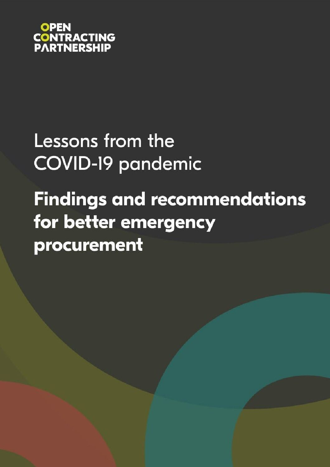 Lessons from the COVID 19 pandemic: Findings and recommendations for better emergency procurement from 12 countries
