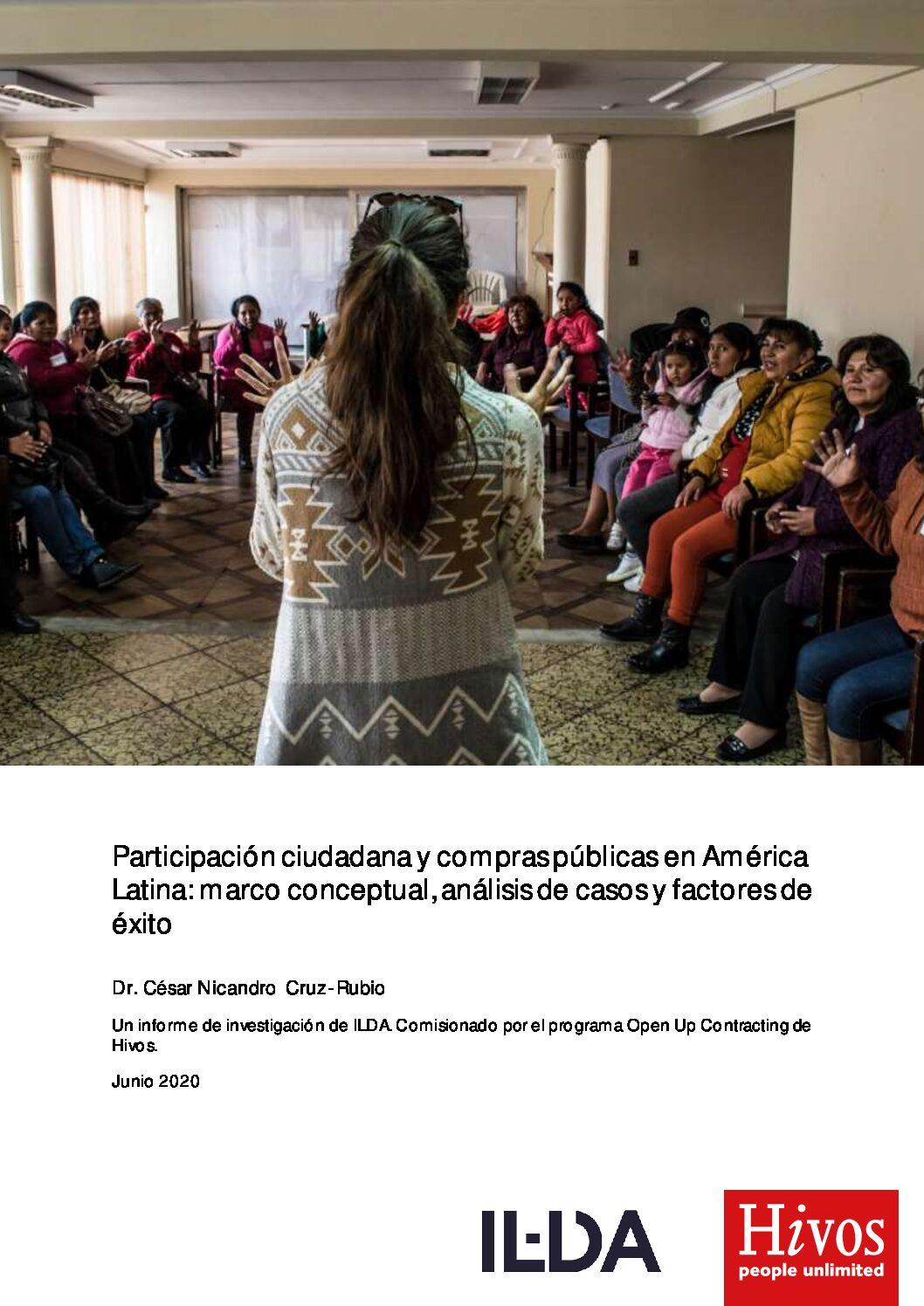 Participacion Ciudadana y Compras Publicas en America-Latina