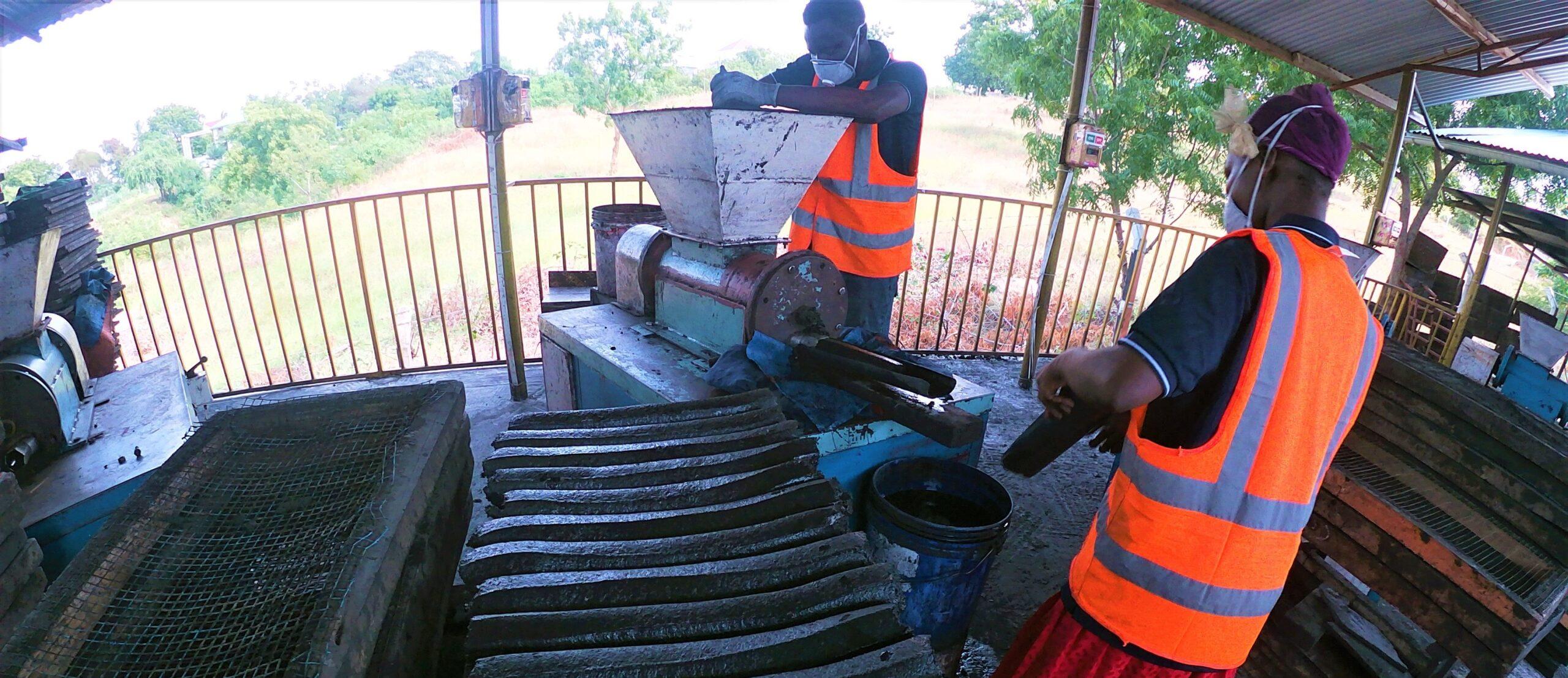 briqutting Tanzania