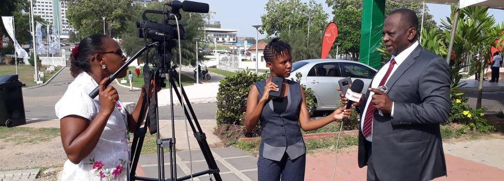 journalist Africa climate week