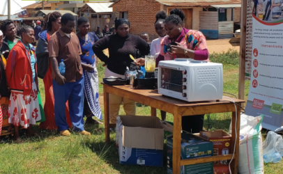 Small business, big demand: facilitating finance for productive uses of energy in Tanzania