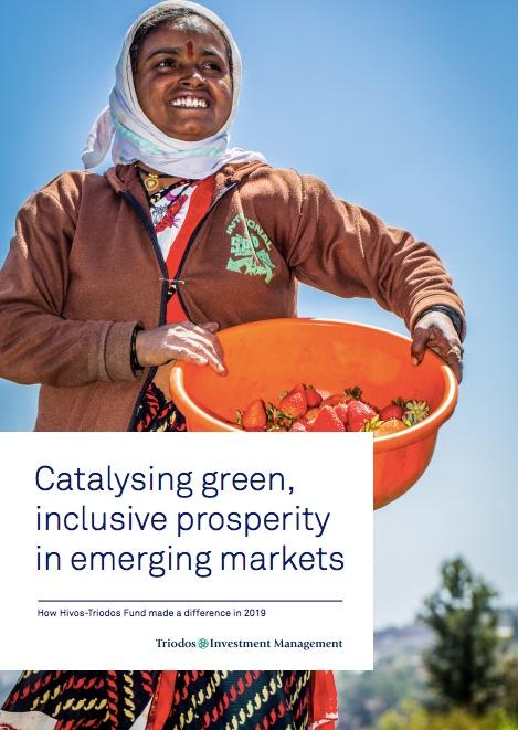 Cover Annual Report Hivos-Triodos Fund