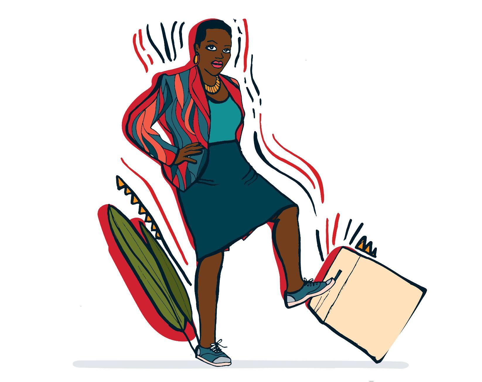 Illustration of Voice's Ruth Kimani