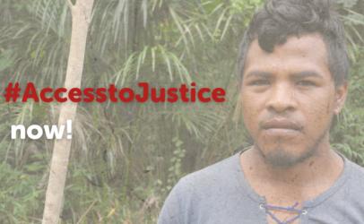 Demanding justice for Indigenous Peoples