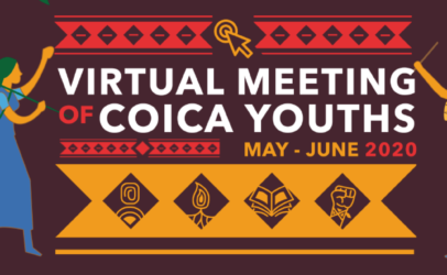 """COICA and Hivos launch Ebook """"Virtual Meeting of COICA Youths"""""""