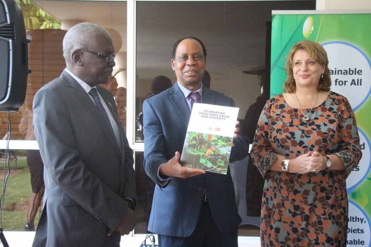 Publication celebrating food value launched in Zambia