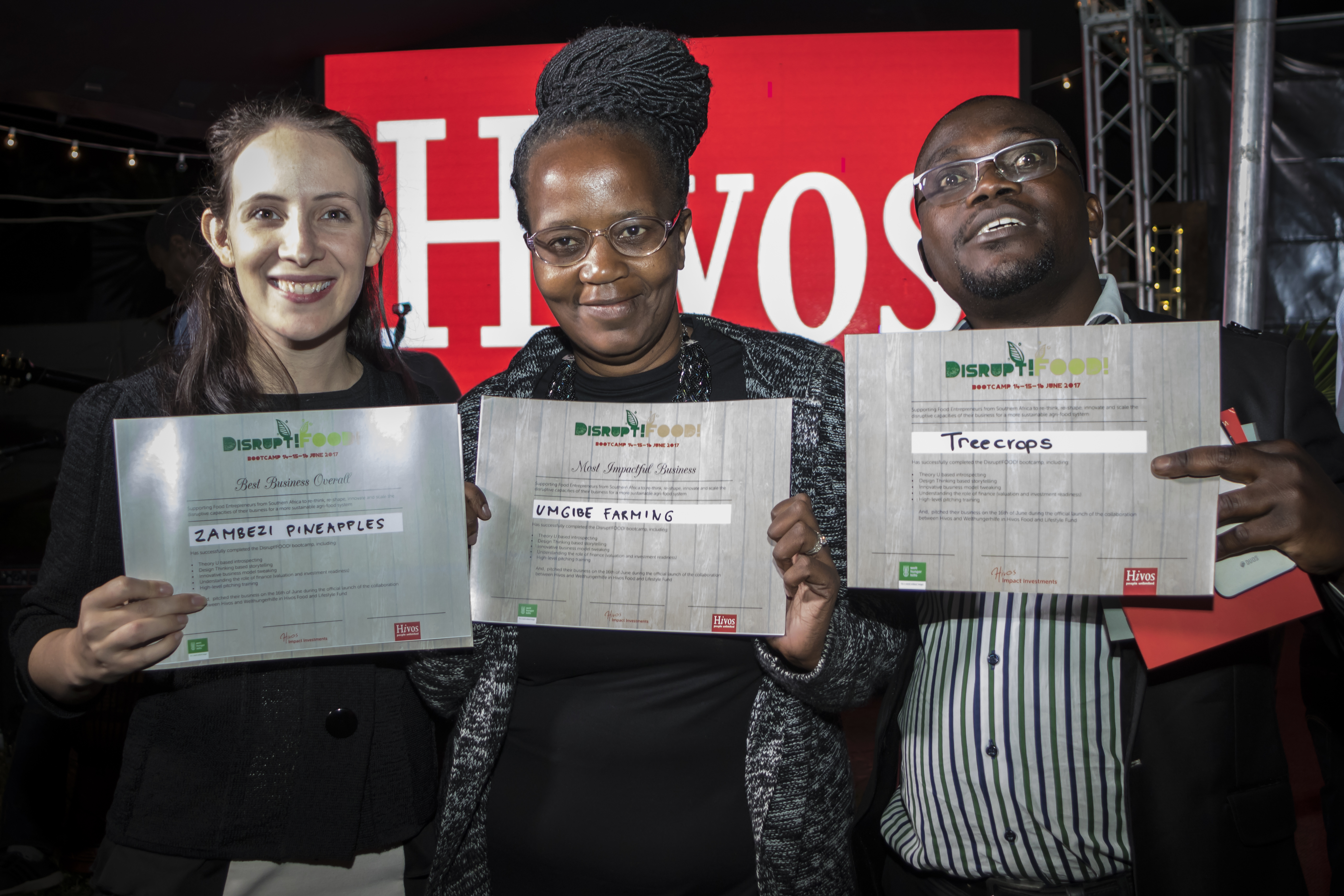 #DisruptFOOD! Inspires Entrepreneurs in Southern Africa
