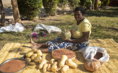 Beyond maize to fight hunger